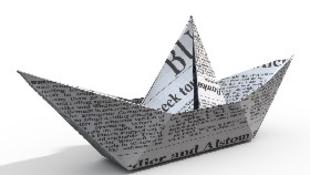 Elvágják a nyomtatott sajtó torkát
