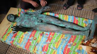 Újra eltűnt a gázai Apollón-szobor