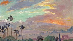 Churchill a depresszió ellen Marrakesben harcolt