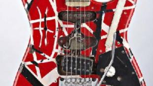 Múzeumi tárgy lesz egy gitár