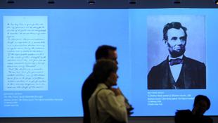 Rekordáron kelt el Lincoln kézirata