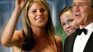 Tornóczky Anita nyomdokaiba lép Bush lánya