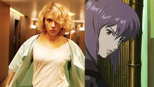 Animében kapott szerepet Scarlett Johansson