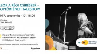 Benkő Lászlóval folytatódik a Cseh Tamás Program múltidéző sorozata