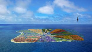 Gigantikus szigetet terveznek az óceánra építeni szemétből