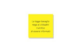 Fehér címlapokkal tiltakoznak az olasz lapok