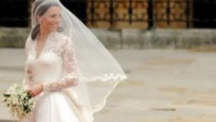 Több millió fontot hozott az esküvői ruha