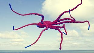 Óriási szörnyek jelentek meg a tengerparton