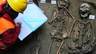 Temetőt találtak az Uffizi Képtár alatt