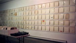 Fehér Albumok ezreit állították ki