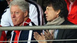 Mick Jagger a foci VB rossz ómene