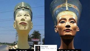 Megcsúnyult a királynő: neten terjed a fotó