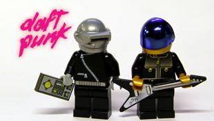 Rakja össze Legóból a Daft Punkot!