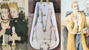 Ulysses-illusztrációk a múzeumban