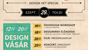 Indul a kilencedik Design Hét