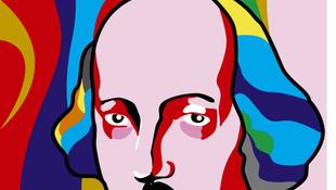 Shakespeare-ünnep óriásmozaikkal