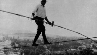 Elhunyt a világhírű kötéltáncos