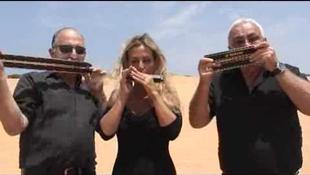Izrael legnépszerűbb harmonikás triója Budapesten