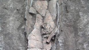3300 éves szarkofágra bukkantak