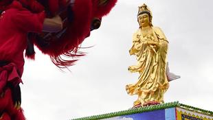 Íme Európa legnagyobb Buddha-szobra