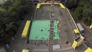 Elkészült a legmagasabb Lego-torony