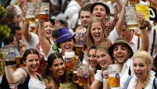 Megnyílt az Oktoberfest Münchenben