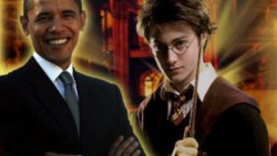 Obama elnök mint a Harry Potter-könyvek reklámarca??