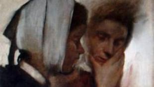 Lopott Degas-festmény bukkant fel egy árverésen