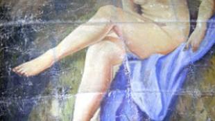 Irakba hurcolták a Meztelen nőt