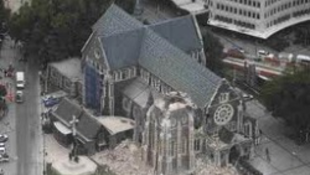 Papírkatedrálist kap Christchurch