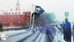 Darth Vader a Battyhány téren