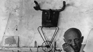 Picasso fotói az Alföldi Galériában