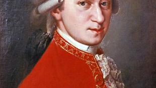 A mai napon született Mozart