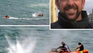 Cápa végzett a filmrendezővel
