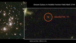 Új galaxis fedeztek fel