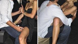 Buja képek: nyilvánosan esett egymásnak a szexéhes sztárpár