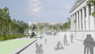 Ilyen lesz a Nemzeti Múzeum a bővítés után