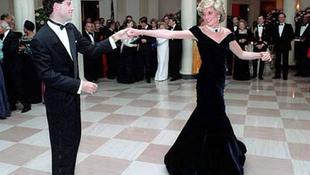 Botrány Diana hercegnő ruhái körül