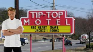 A legrosszabb hotelekben őrjöng a nagyszájú sztár