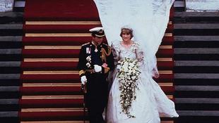 Diana hercegnő kínos bakija az esküvőn