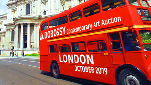 Kortárs magyar művek egy londoni árverésen