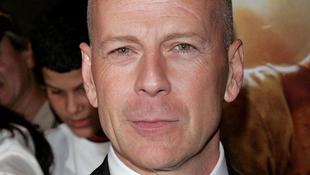 Falfestmény készült Bruce Willisről