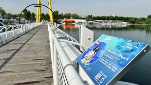 Eurovízió: hidat avattak a versenyzőknek