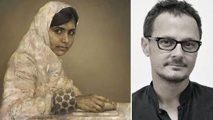 Elárverezik Malala portréját