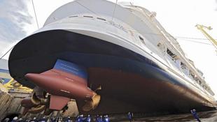Átadták a 21. század Titanicját