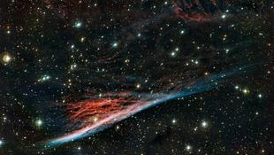 Boszorkányseprűre emlékeztet a villámgyors csillagköd