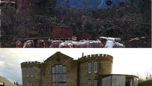 Le kell bontani a titokban épült kastélyt