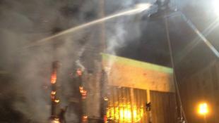 Leégett a Die Hard díszlete