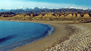 Rejtélyes település a tó fenekén