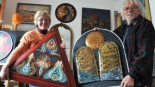 Szegedi házaspár az egyetlen magyar kiállító Firenzében